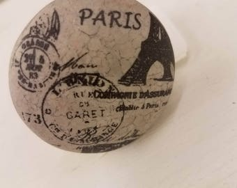 ON SALE Paris Knob/Knobs/Cabinet Knobs-/Dresser Knobs/Drawer Pulls/Knobs/Shabby Chic/Knob/Shabby Chic Knobs/French Country Knob