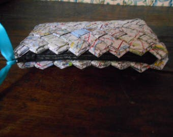 Trousse de sac en papier tressé