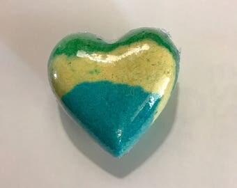 Heart Bath Bomb/ bath fizzie.