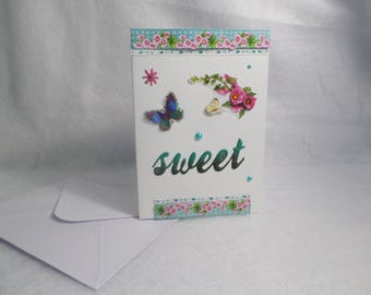 """Card """"sweet"""" for various occasions"""