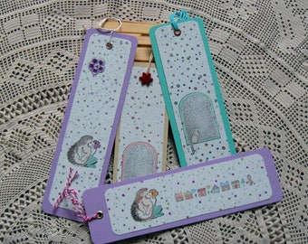 Spring handmade bookmarks