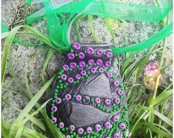 Freshness of the woodland nature pendant