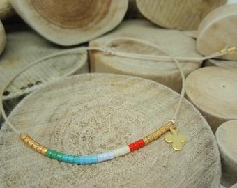 "Bracelet ""Miyuki Rainbow"" Julia"