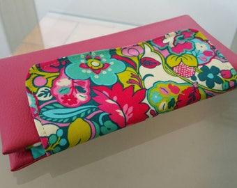 Checkbook - door leatherette and Liberty cards