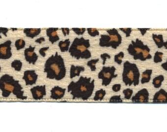 Fancy beige 38 mm C003 skin in Leopard Ribbon