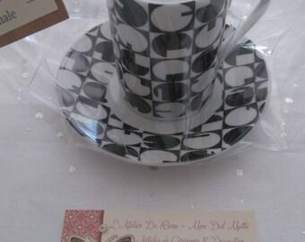 "Handmade scented candle - fragrance ""Little Guerlain black dress"""