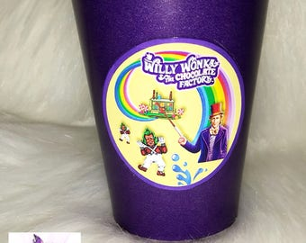 Additional Purple Cups for the Willy Wonka Inspired Dinnerware Package
