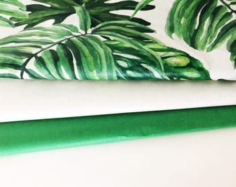 Tropical Leaf Tissue Paper Pack- Gift Wrapping/Bulk Tissue Paper/Tissue Paper/Tissue Paper/Wrapping Paper/leaf tissue/Easter Paper/leaf