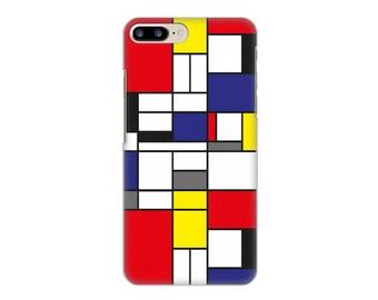 Case for iPhone 4-5-6-7, Mondrian