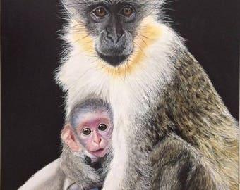 Maternal Monkey