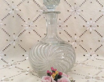 Vintage French Baccarat Bottle