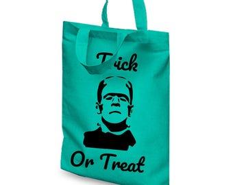Halloween Trick or Treat Bag | Trick Or Treat Halloween Bag | Vampire Trick Or Treat | Frankenstein Trick Or Treat | Witch Trick Or Treat