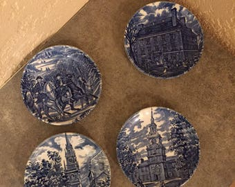 Vintage Liberty House Plates