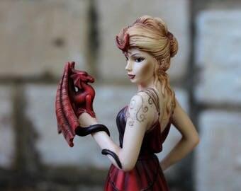 dragon witch & fairy, goddess