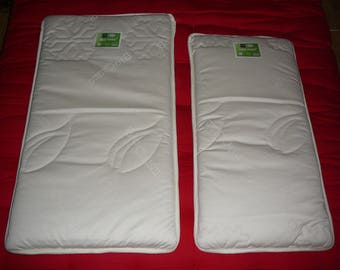Optional 40 organic crib mattress x 80 cm coir