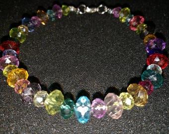 347. Multicoloured Beaded Bracelet