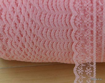 Beautiful lace rose 2 cm wide