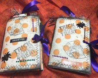 Mini Halloween Journals