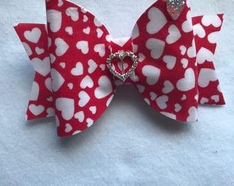 Large fabric bow