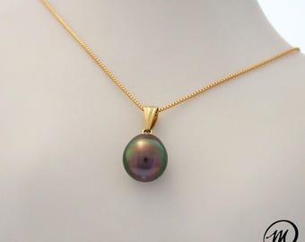 Pendant 18 k gold Perle de Tahiti/MPT4027