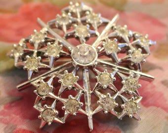 Snowflake Brooch