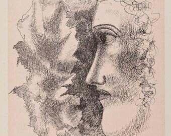 FERNAND LEGER - 'Ete et feuille' - limited edition lithograph - c1939 (Mourlot/Teriade/Verve, Paris)