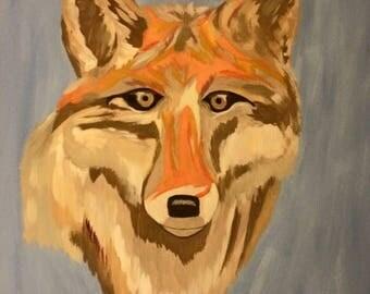 Mr. Fox - Custom Painting