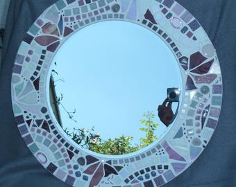 "Mosaic mirror around ""Noblesse"" mirror"