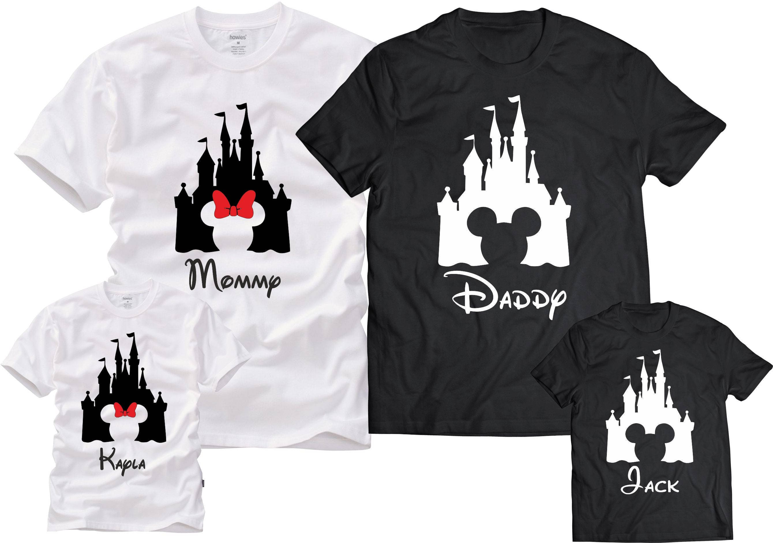 Disney family shirts mickey minniecustom