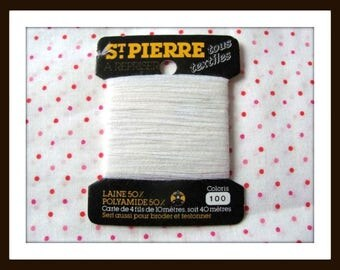 Yarn darning holy stone - white 100