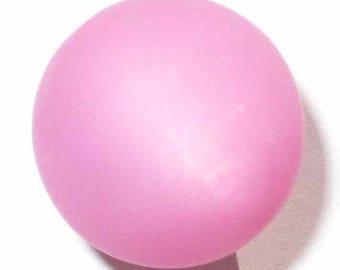 10 pearls pink 6mm polaris 10 beads