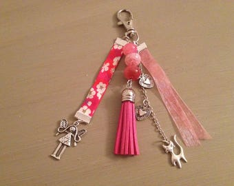 Bag very girly with tassel