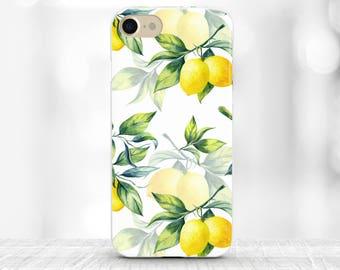 Lemons phone case Lemons iPhone 7 plus Case Samsung s7 edge case Lemon Botanical iPhone 7 case for galaxy s8 plus Summer Fashion iPhone 6s