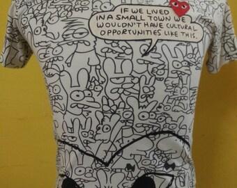 COMME des GARCONS Original t-Shirt Japan,size S