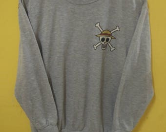 One Piece Sweatshirt Mugiwara Pirates From Japan Animation