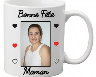 "Mug ""Happy mother's day"" with photo 4"
