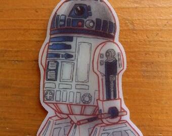 R2D2 Star Wars Keychain handmade