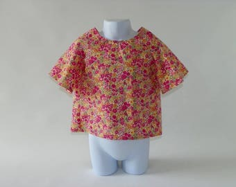 Top Backless thousand cotton girl summer flowers.