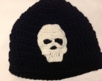 Sugar skull beanie