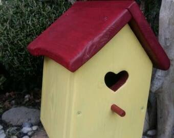 Birdhouse for chickadees