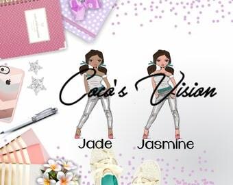 Jade/ Jasmine Die Cut