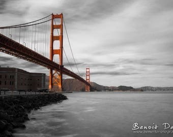 Photography in San Francisco Golden Gate 20x30cm