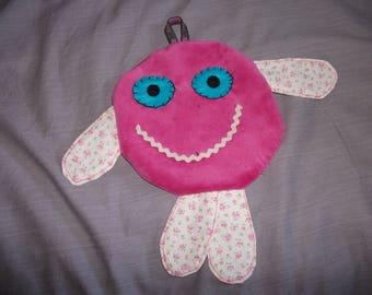 Cuddly soft, round with a Pocket