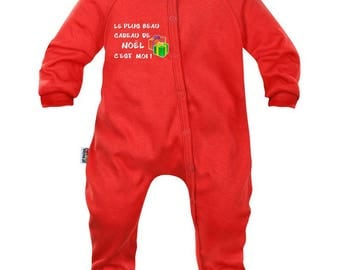 Baby Pajamas: the greatest gift of Christmas is me!