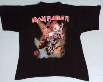 1990's Vintage Iron Maiden The Best Shirt for Men