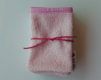 Set of 5 baby Washcloths