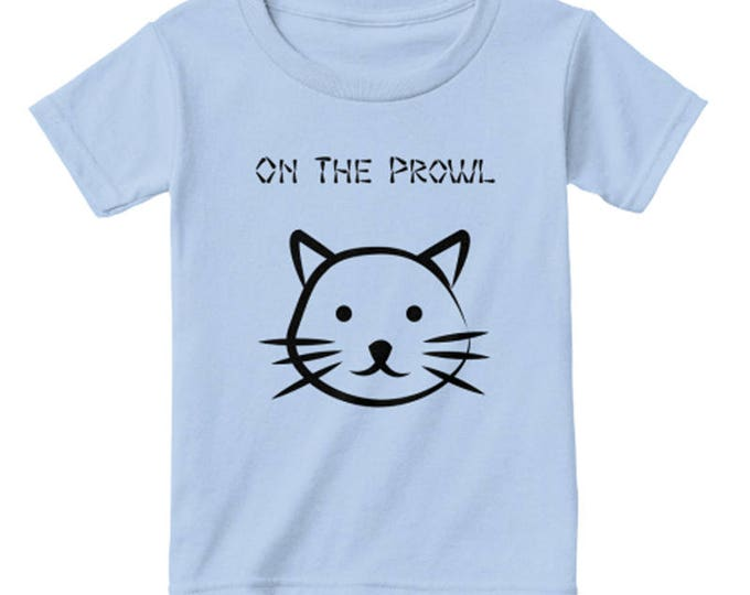 Toddler Unisex: Kitten Shirt; Toddler Girl T shirt; Toddler Boy T shirt; Children's Clothing