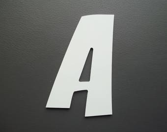 Metal aluminum ZOINKS letter. all letters available