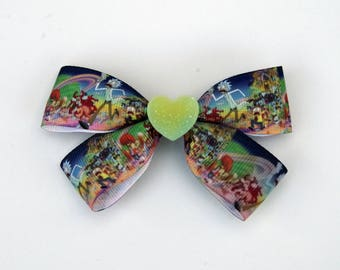 Rick and Morty Bow || Rick and Morty Accessories ||
