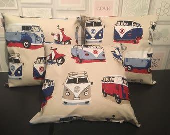 "VW camper van cushion cover -18"""